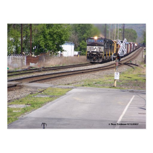 Norfolk Southern C-40-9W #9265 at Macungie Pa. Post Card