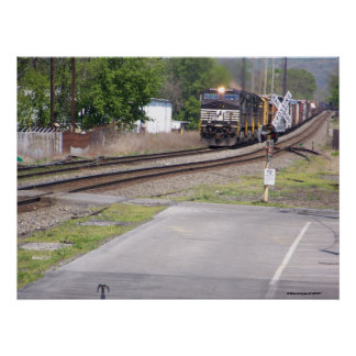 Norfolk Southern C-40-9W #9265 at Macungie Pa. Print