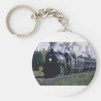 Norfolk/Southern No. 1218 at KeNova WVA Basic Round Button Keychain