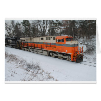 Norfolk Southern Railroad Heritage Loco Interstate Greeting Card