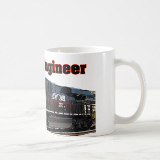 Norfolk & Southern Retired Engineer Coffee Mug