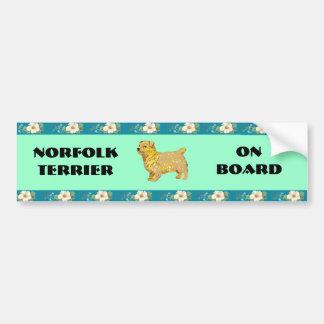 Norfolk Terrier - Body left Bumper Sticker