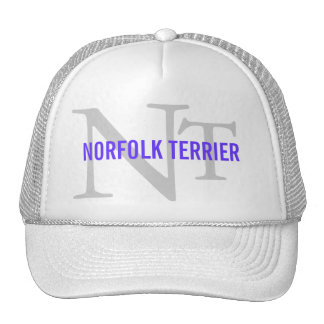 Norfolk Terrier Breed Monogram Trucker Hat