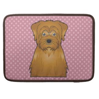 Norfolk Terrier Cartoon Sleeve For MacBook Pro