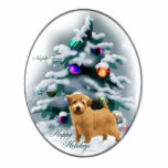 Norfolk Terrier Christmas Gifts Photo Cut Out