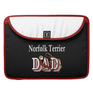 Norfolk Terrier Dad Gifts MacBook Pro Sleeve