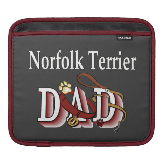 Norfolk Terrier Dad Gifts Sleeve For iPads