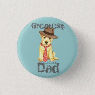 Norfolk Terrier Dad Pinback Button