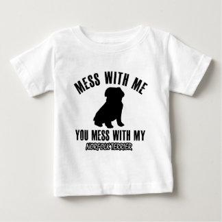 Norfolk terrier designs baby T-Shirt