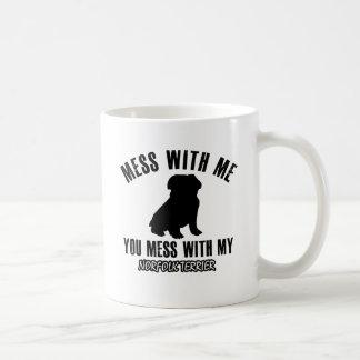 Norfolk terrier designs coffee mug