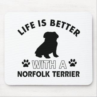 Norfolk Terrier Designs Mouse Pad