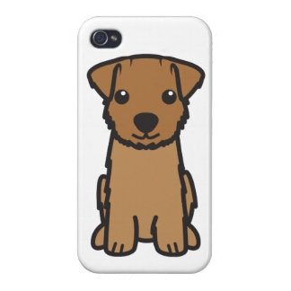 Norfolk Terrier Dog Cartoon iPhone 4 Cover