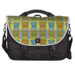 Norfolk Terrier Dog Cartoon Pop-Art Computer Bag
