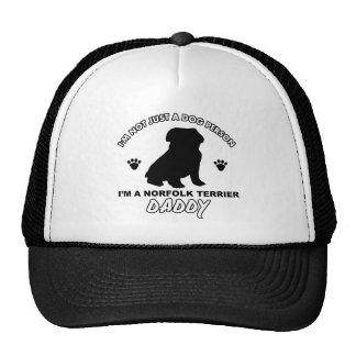 NORFOLK TERRIER dog daddy designs Trucker Hat