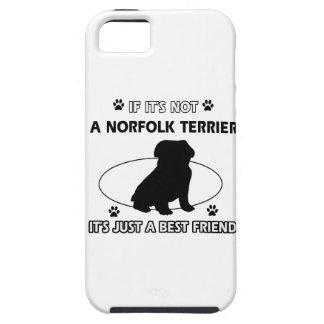 NORFOLK TERRIER dog designs iPhone SE/5/5s Case