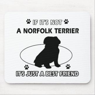NORFOLK TERRIER dog designs Mouse Pad