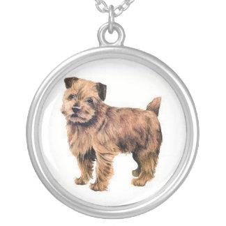Norfolk Terrier Dog Necklace