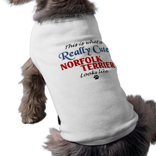 Norfolk Terrier Doggie T-shirt