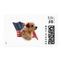 Norfolk Terrier Flag Postage