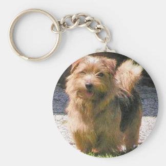 Norfolk terrier full.png keychain