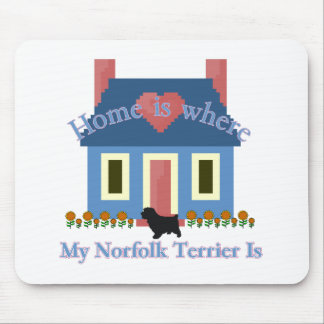 Norfolk Terrier Home Is Mouse Pad