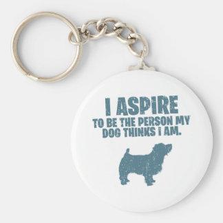 Norfolk Terrier Key Chain