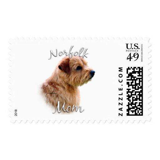 Norfolk Terrier Mom 2 Postage Stamp