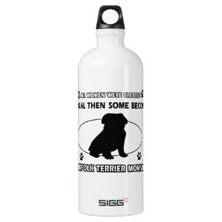 Norfolk Terrier Mommy Designs Water Bottle