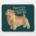 norfolk terrier mouse pad