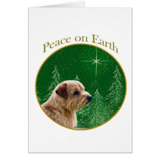 Norfolk Terrier Peace Card