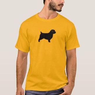 Norfolk Terrier Silhouette T-Shirt