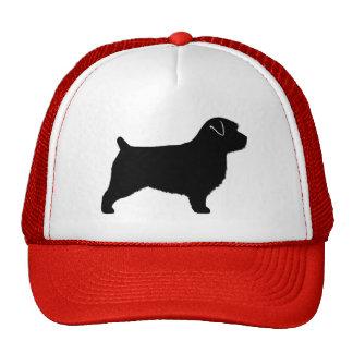 Norfolk Terrier Silhouette Trucker Hat