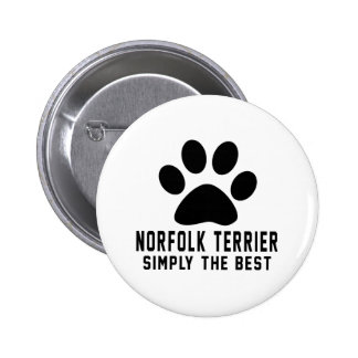 Norfolk Terrier simplemente el mejor Pins