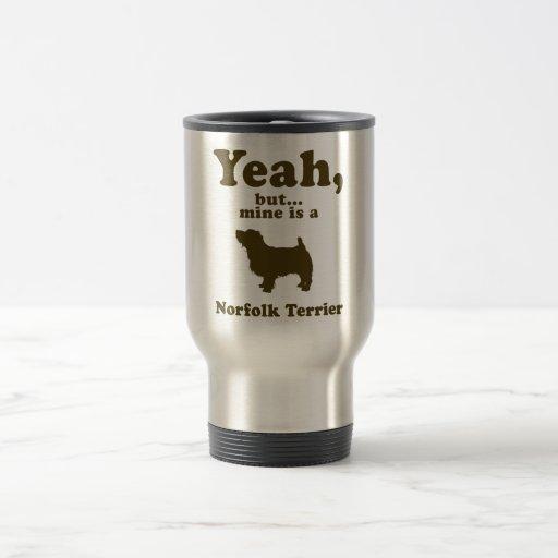 Norfolk Terrier Taza De Viaje De Acero Inoxidable