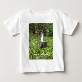 Norfolk Unicorn Hoax Unmasked Baby T-Shirt