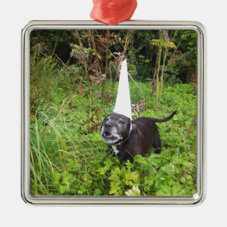 Norfolk Unicorn Hoax Unmasked Metal Ornament
