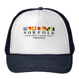 Norfolk Virginia 2 Trucker Hat
