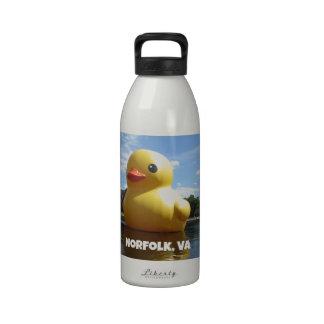 Norfolk, Virginia (Duck) Water Bottle