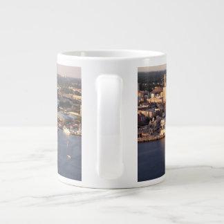 Norfolk Waterfront Giant Coffee Mug