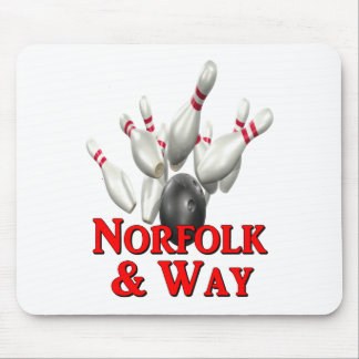 Norfolk & Way Bowling Mouse Pad