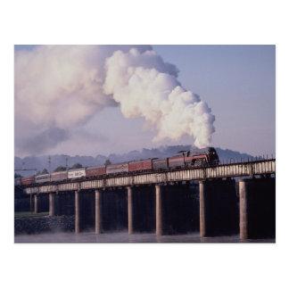 Norfolk & Western No. 611 crosses the Tennessee Ri Postcard