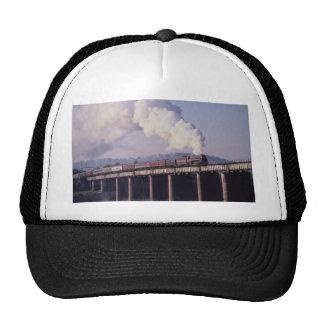 Norfolk & Western No. 611 crosses the Tennessee Ri Trucker Hat