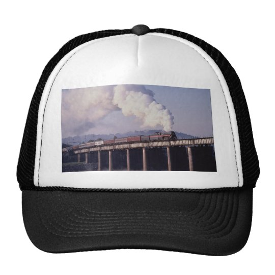 Norfolk & Western No. 611 crosses the Tennessee Ri Trucker Hat