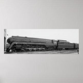 Norfolk & Western Railway's #611 Poster