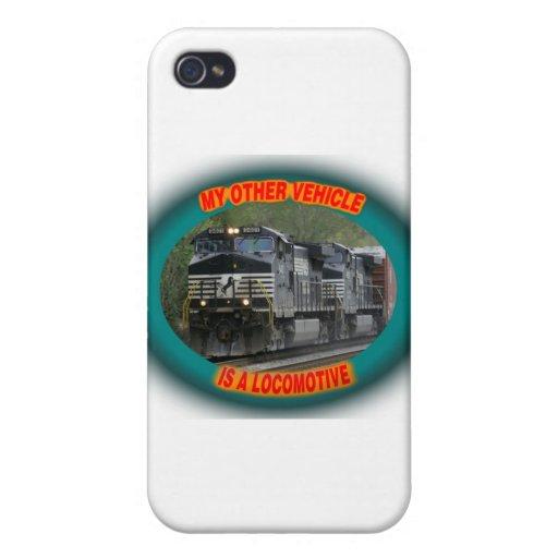 Norfolk y locomotora meridional iPhone 4/4S funda