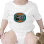 Norfolk y locomotora meridional trajes de bebé