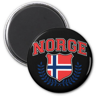 Norge 2 Inch Round Magnet