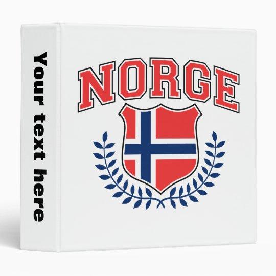 Norge 3 Ring Binder