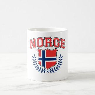 Norge Classic White Coffee Mug
