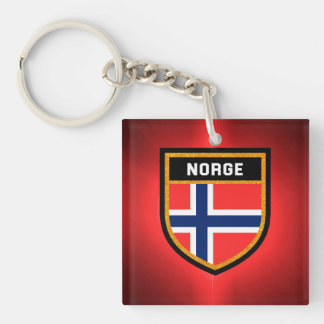 Norge Flag Keychain